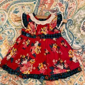 NWT Matilda Jane Baby Sugar Plum Dress Size 3-6